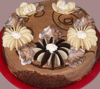 как приготовить простой бисквитный торт на день рождение