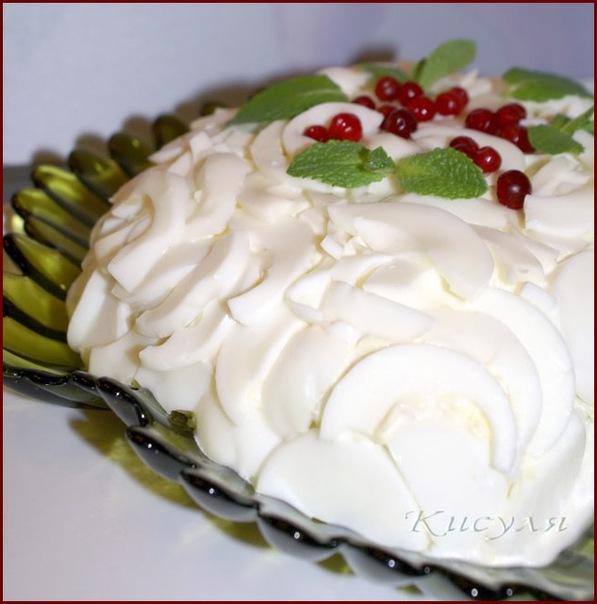 Свадебный торт с бантами фото 9